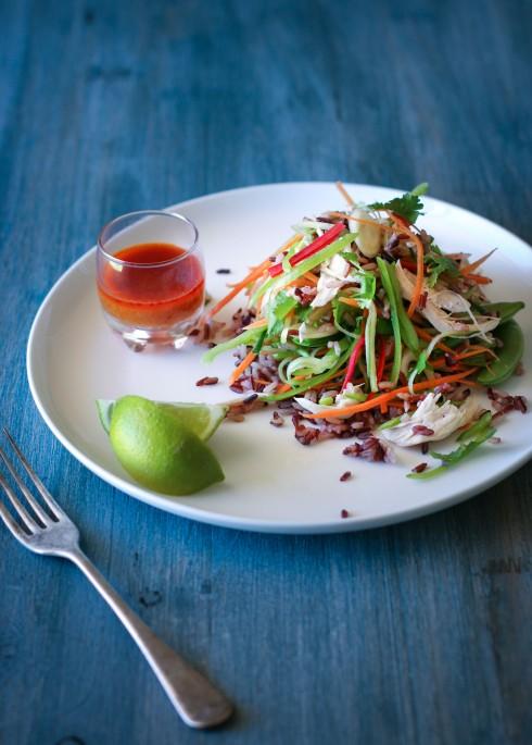Thai Coconut chicken salad