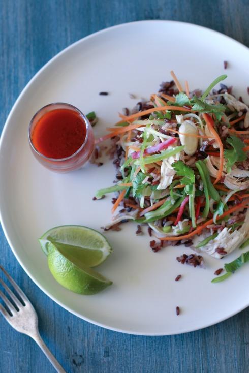 Thai coconut chicken salad 2